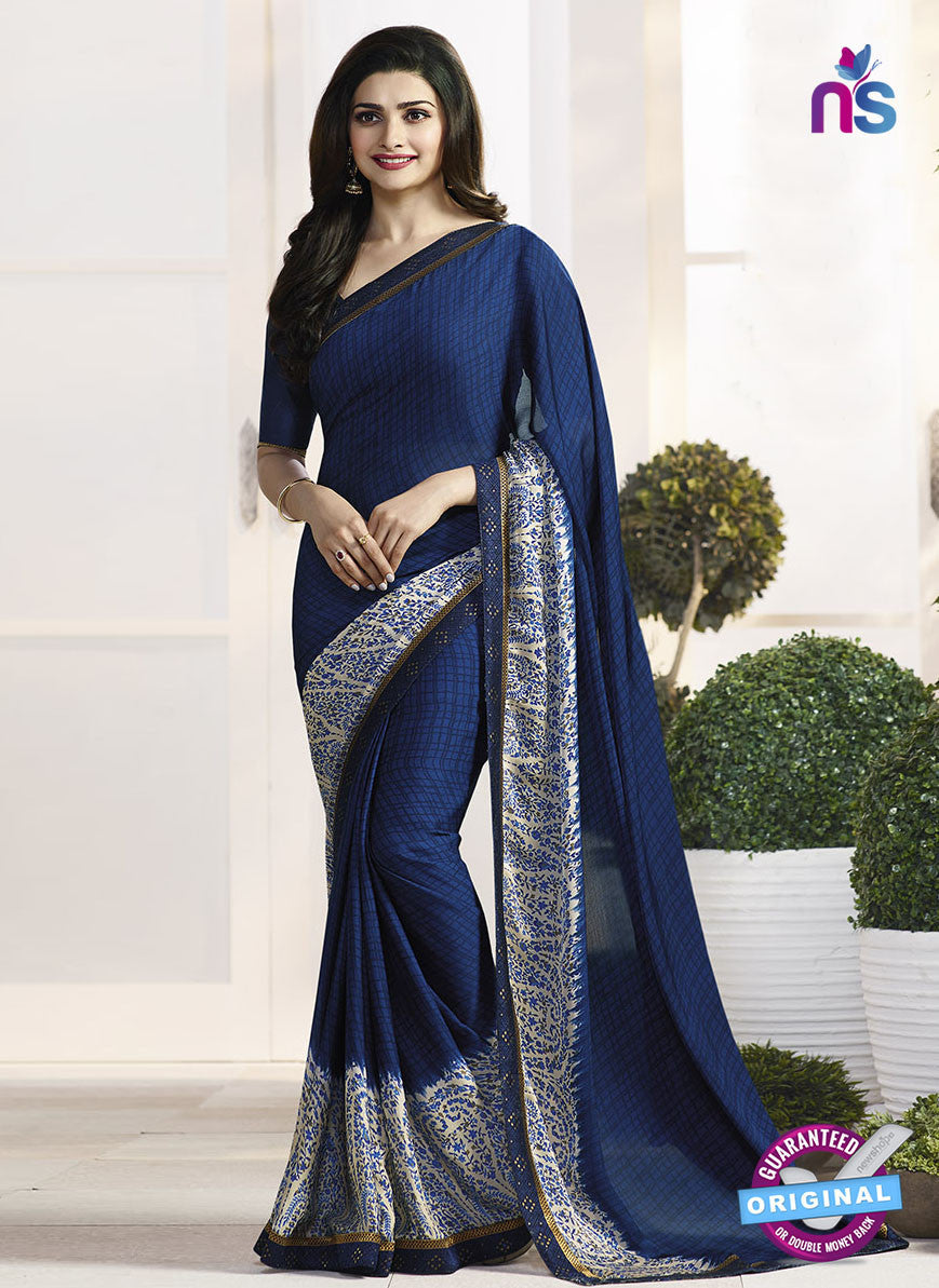Vinay Fashion 17976 Blue Casual Saree