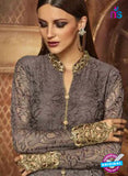 AZ 3945 Grey Russel Net Party Wear Suit Online