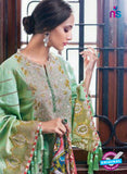 SC 13804 Green Lawn Designer Fancy Traditional Plazo Suit
