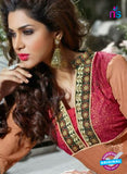 NS12255 Peach and Red Straight Suit Online