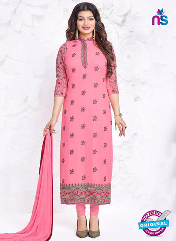 Aashirwad 18001 Pink Party Wear Suit