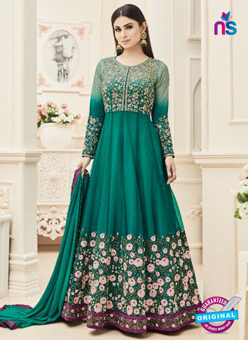 Arihant 18002 A Sea Green Anarkali Suit