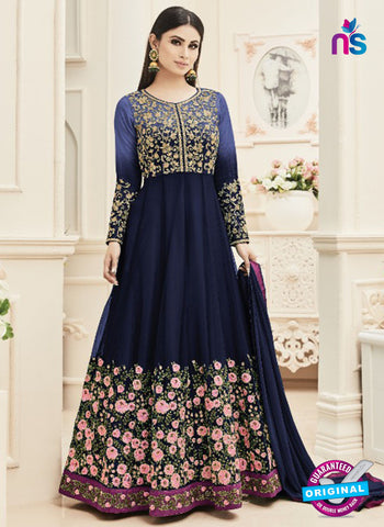 Arihant 18002 D Blue Anarkali Suit