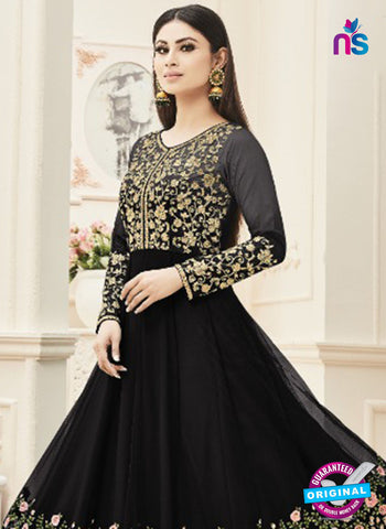 Arihant 18002 F Black Anarkali Suit