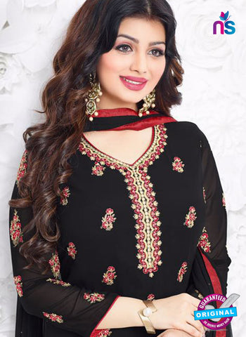 Aashirwad 18003 Black Party Wear Suit