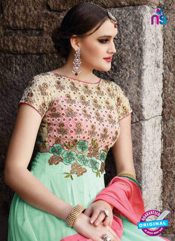 Eternal 18004 Sky Blue Anarkali Suit