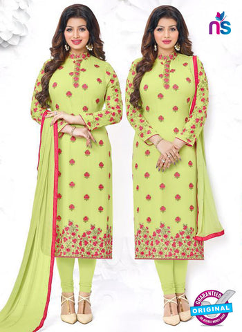 Aashirwad 18005 Green Party Wear Suit