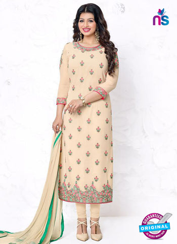 Aashirwad 18007 Beige Party Wear Suit