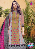 SC 12279 Multicolor and Pink Embroidered With Digital Printed Pure Lawn Pakistani Suit Online