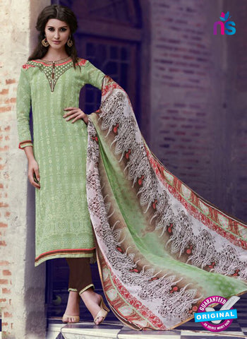 Teazle 1801 - Green & Brown Color Kota Doria Designer Suit