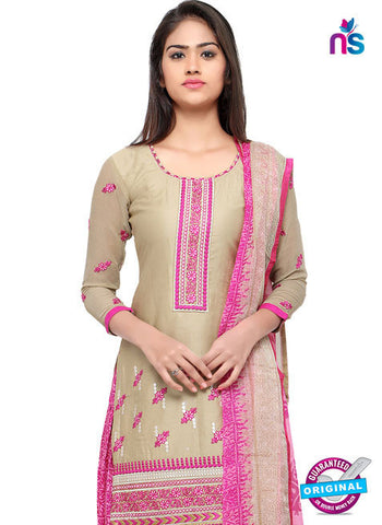 RT 18042 Beige Cotton Suit