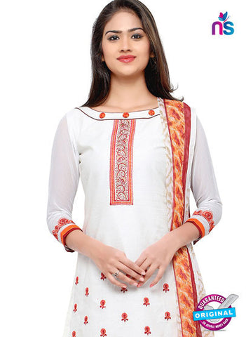 RT 18046 White Cotton Suit