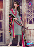 Teazle 1804 - Grey Color Kota Doria Designer Suit