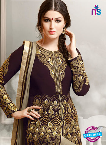 Gulzar 1808 Brown Indo Western Suit