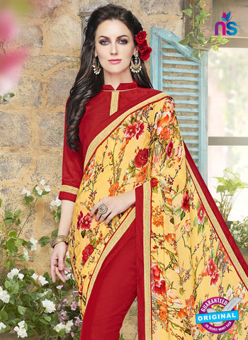 RT 18263 Red Formal Saree