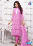 SC 13344 Pink Pure Chiffon Straight Suit