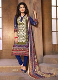 NS11399 B  Blue Color Cotton Designer Suit