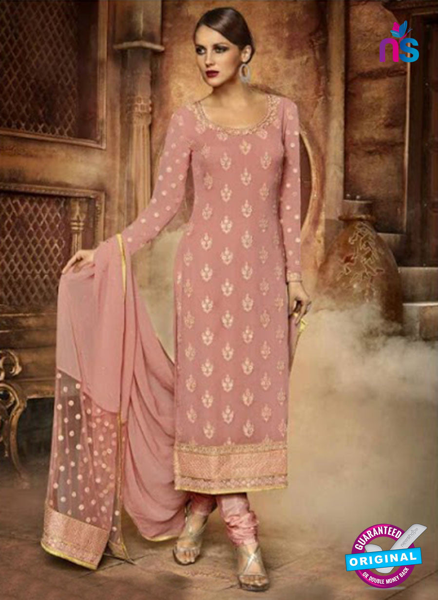 AZ 3952 Pink Georgette Party Wear Suit