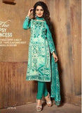 NS11401 A  Green Color Cotton Designer Suit