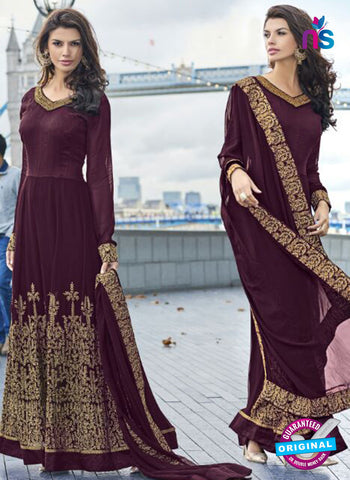 Volono 187 Purple Anarkali Suit