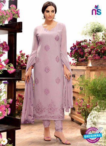 AZ 5242 Purple Georgette Designer Straight Suit