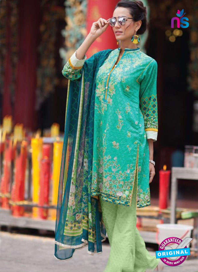 SC 13950 Sea Green Latest Exclusive Fancy Function Wear