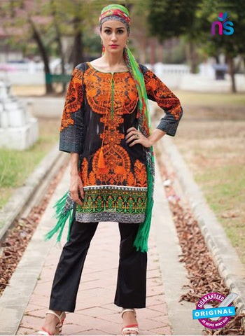 SC 13946 Black Cambric Cotton Latest Exclusive Fancy Wear