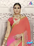 latest georgette party wear saree