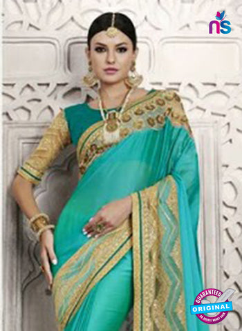 green colour sarees
