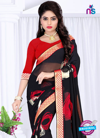 RT 19052 Black Casual Saree