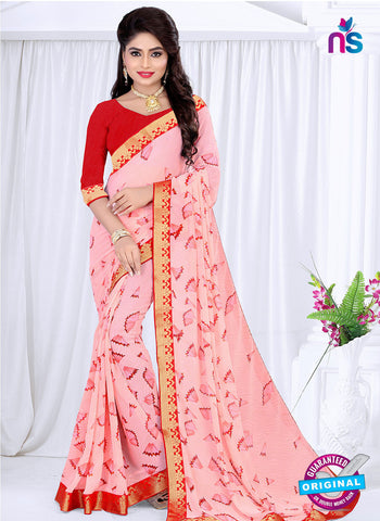 RT 19053 Pink Casual Saree