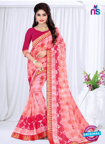 RT 19055 Pink Casual Saree