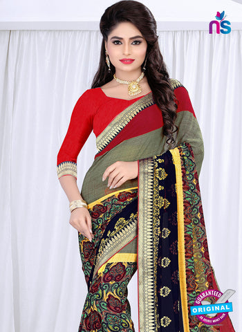 RT 19059 Multicolor Casual Saree
