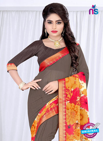 RT 19061 Grey Casual Saree