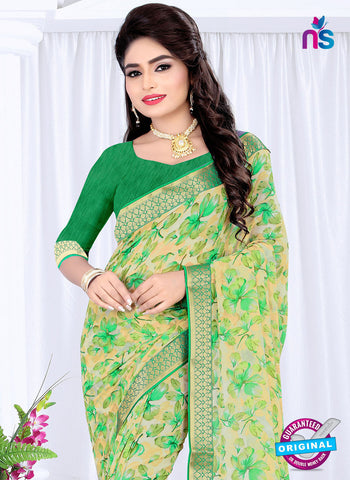 RT 19062 Green Casual Saree