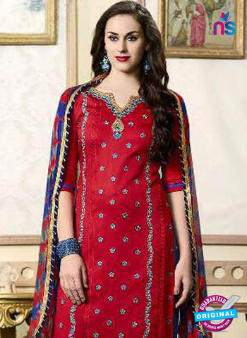 Kessi 1907 Red Formal Cotton Suit