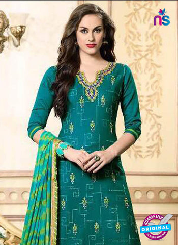 Kessi 1910 Sea Green Formal Cotton Suit