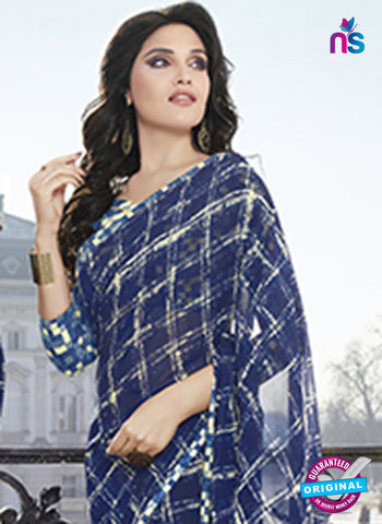 RT 19557 Blue Casual Saree