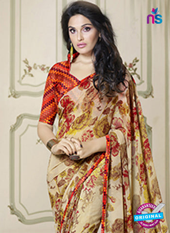 RT 19558 Beige Casual Saree
