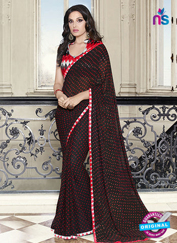 RT 19559 Black Casual Saree