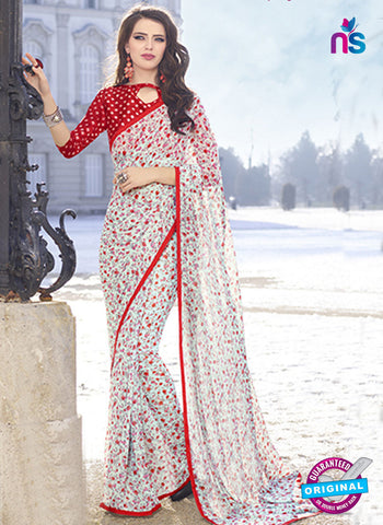 RT 19560 White Casual Saree