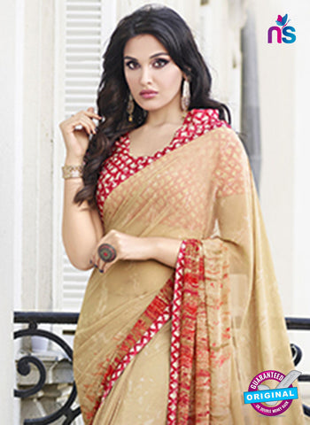 RT 19562 Beige Casual Saree