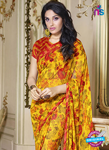 RT 19563 Yellow Casual Saree