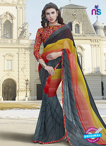 RT 19566 Multicolor Casual Saree