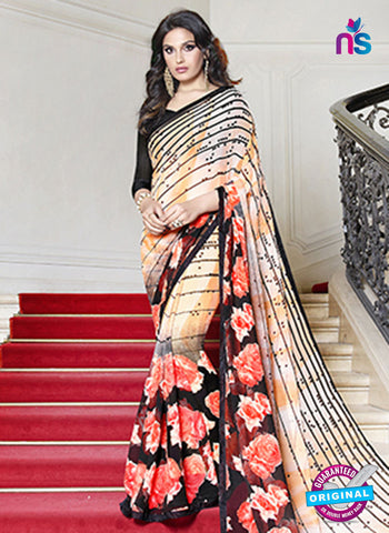 RT 19568 Beige Casual Saree