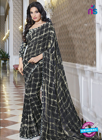 RT 19569 Black Casual Saree