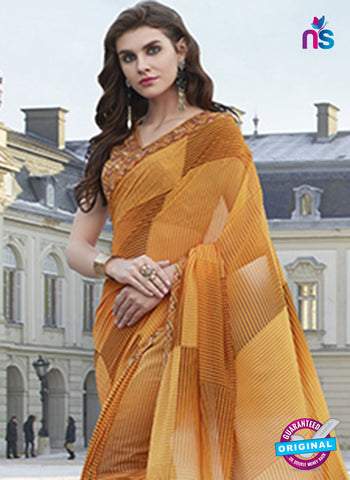 RT 19570 Brown Casual Saree
