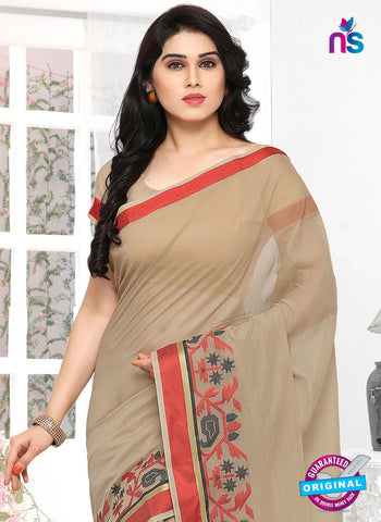 RT 19735 Beige Formal Saree