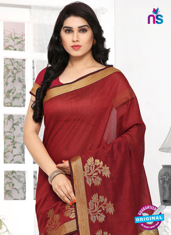 RT 19737 Maroon Formal Saree