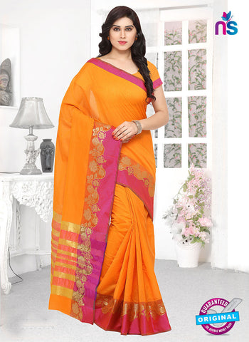 RT 19738 Yellow Formal Saree
